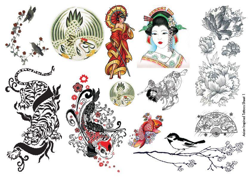 Asian Tattoos Design 25