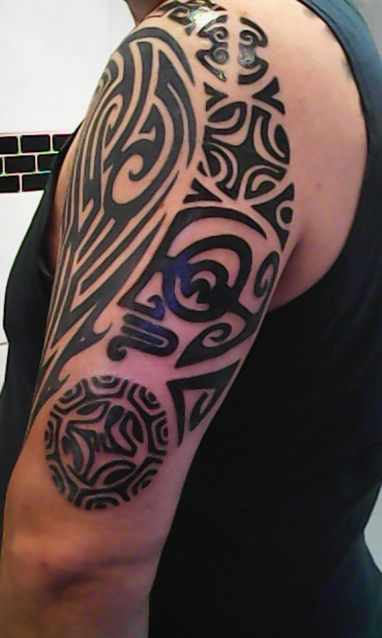 Tribal tattoos for Black tribal tattoo ink