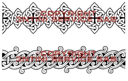 Celtic Armband Tattoos Designs For Men