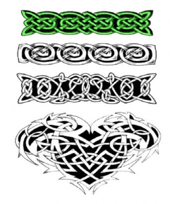 Celtic Armband Tattoos Designs