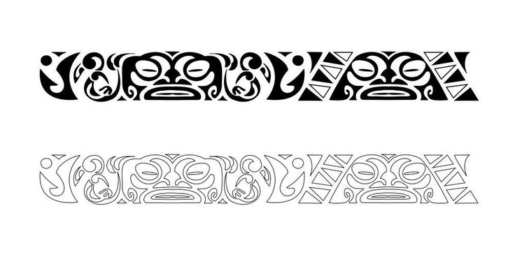 Latest Maori Armband Tattoo Design