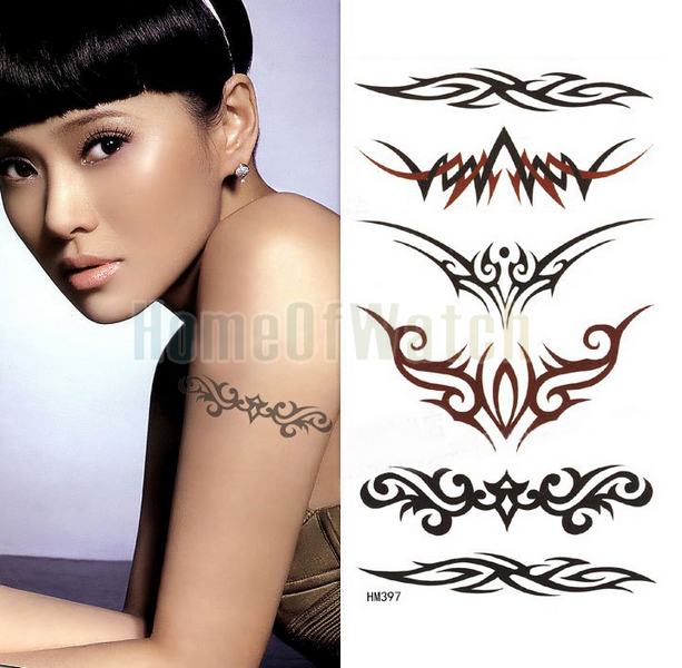 latest tribal armband tattoos designs for girls. Black Bedroom Furniture Sets. Home Design Ideas