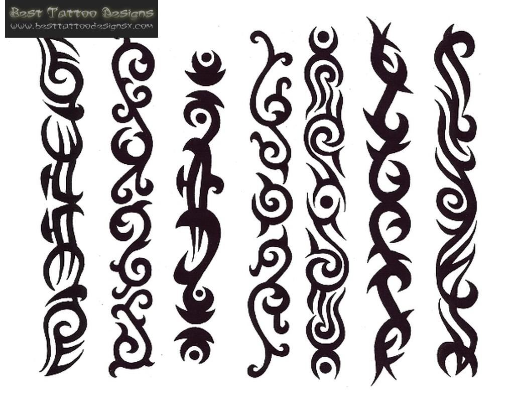 designs tribal band tattoo Armband Latest Designs Tattoos Tribal