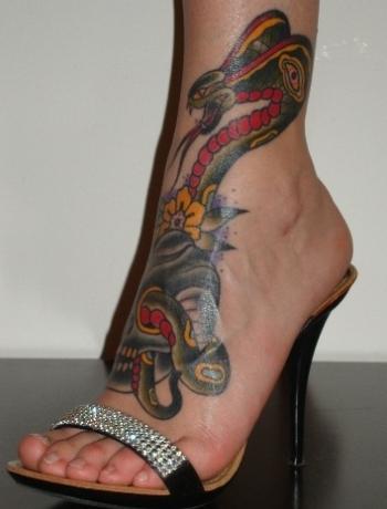 Gallery For > Cobra Skeleton Tattoo Cobra Skeleton Tattoo