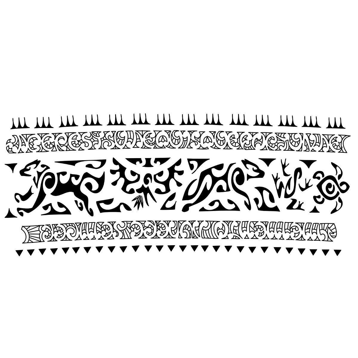 Tribal Armband Tattoo Design For Men