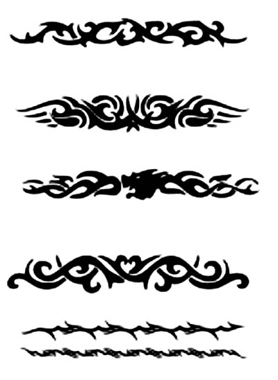 tattoos tribal girly Designs For Guys Tribal Tattoos Armband