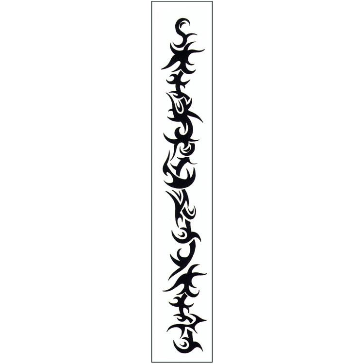 Unique Black Tribal Armband Tattoo Design