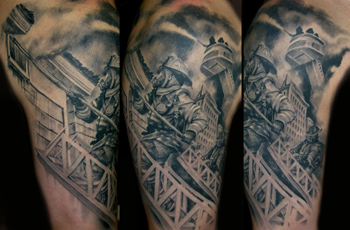 Firefighter Tattoos on Code For Forums   Url Http   Www Tattoostime Com Fire Fighter Tattoo