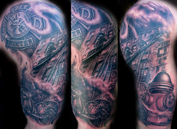 Firefighter Tattoos on Firefighter Tattoos Pictures And Images   Page 20