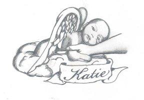 angel holding baby angel tattoo hot girls wallpaper. Black Bedroom Furniture Sets. Home Design Ideas
