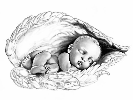 Baby Angel Tattoo Images amp Designs