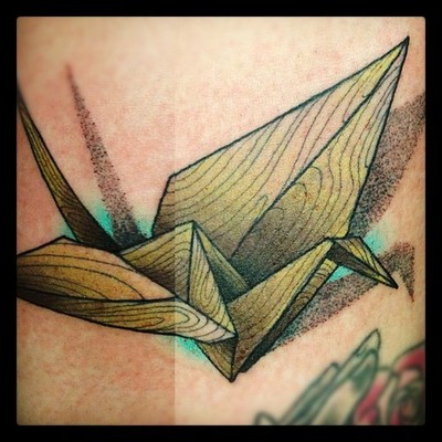 paper crane meaning