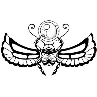winged scarab beetle tattoo images galleries with a bite. Black Bedroom Furniture Sets. Home Design Ideas