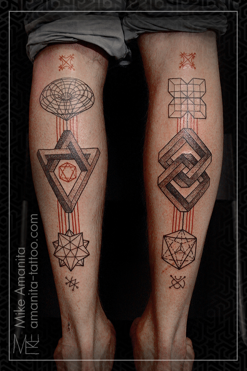 45 elephant tattoos designs on wrists - Geometric Tattoo Images Amp Designs