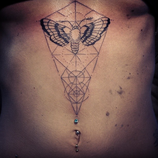 Tattoo Designs Geometric: Geometric Tattoo Images & Designs