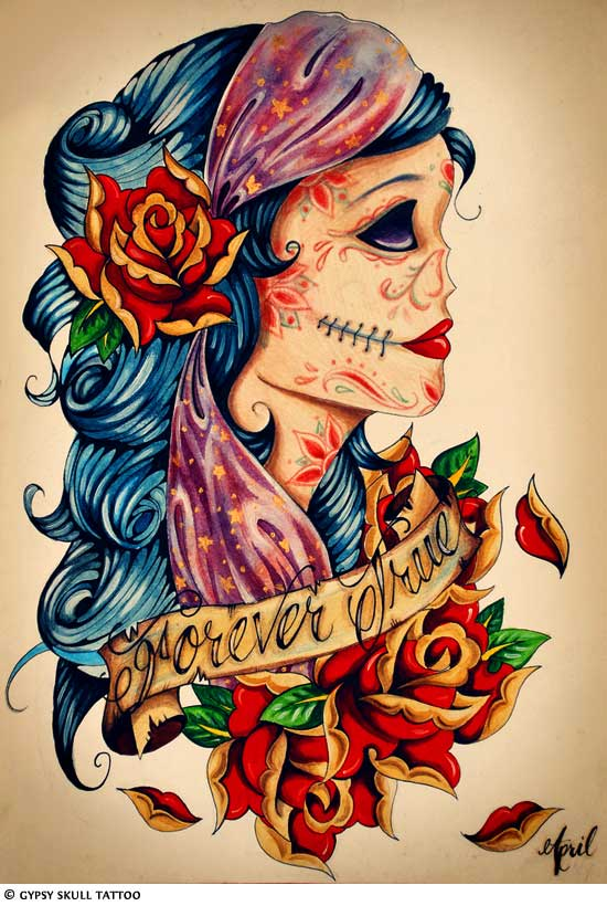 Gypsy Tattoo Images & Designs  Gypsy Tattoo Im...