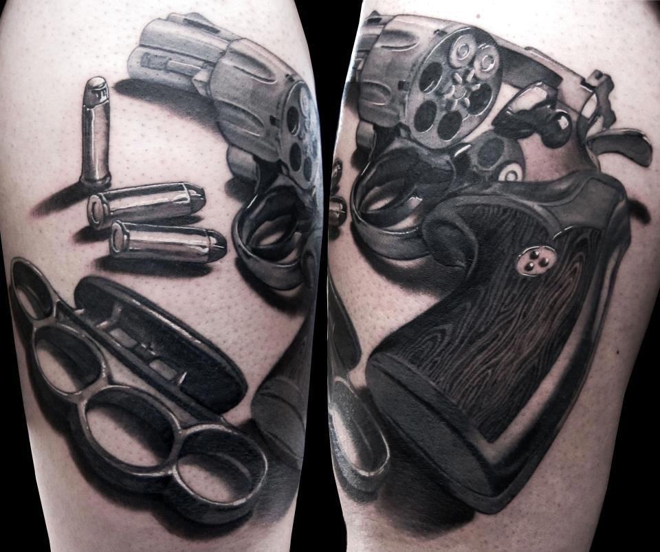 Gun tattoos page 55 for How to put ink in a tattoo gun