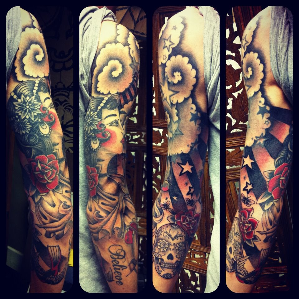 Gypsy Tattoo Sleeve | www.pixshark.com - Images Galleries ...