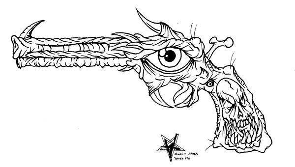Gun Tattoo Images Amp Designs
