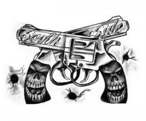 Gun tattoos page 8