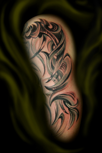 African Tribal Tattoo Half Sleeve: Sleeve Tattoo Images & Designs