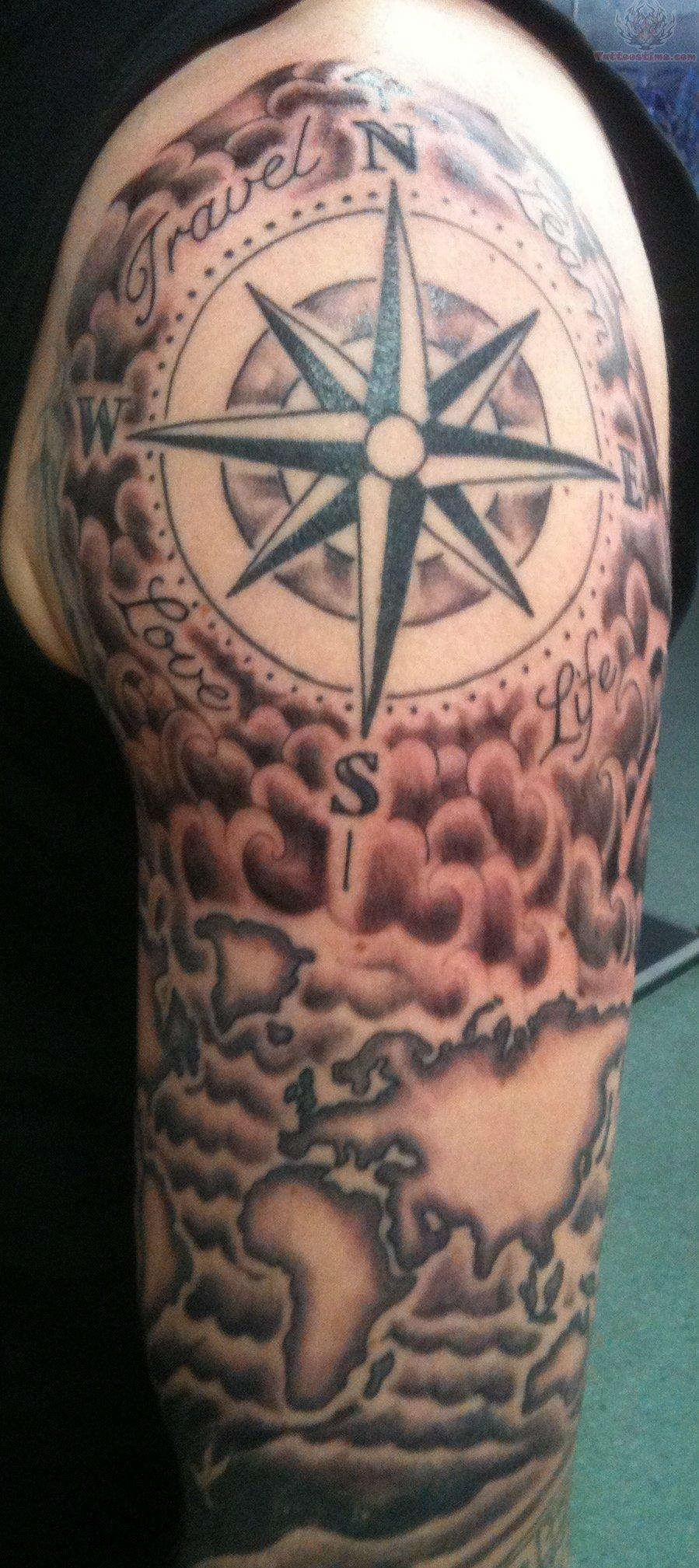 Best Black Tattoo Sleeve Mens: Sleeve Tattoo Images & Designs