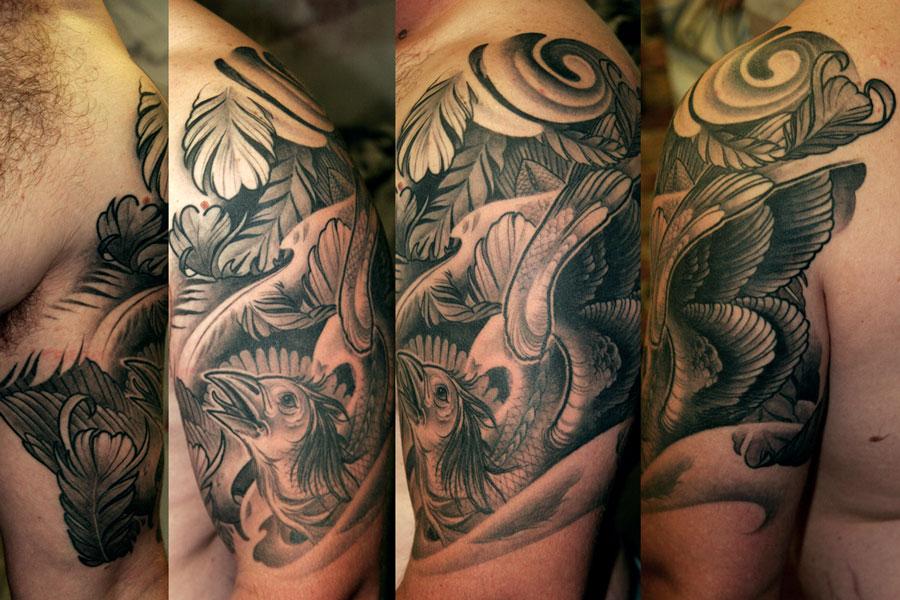 Tattoo Half Sleeve Ideas Black And Grey