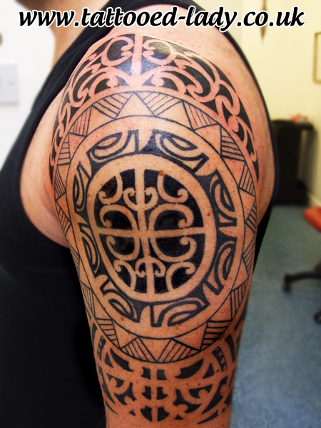 Tribal Tattoos For Men Half Sleeve