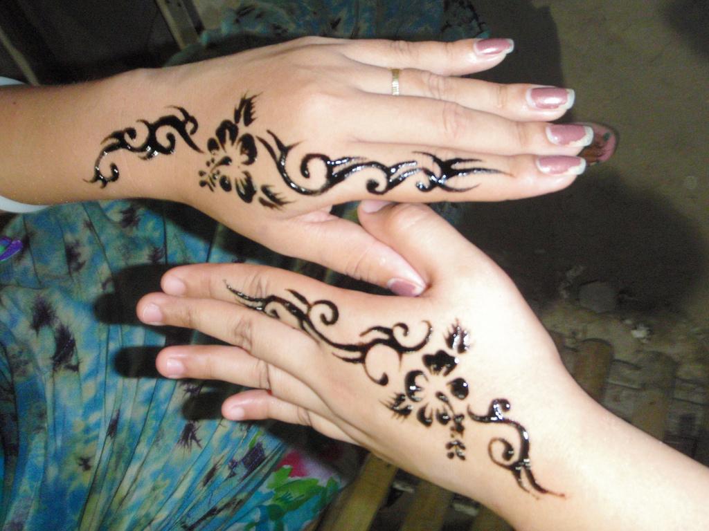 Side Hand Tattoos