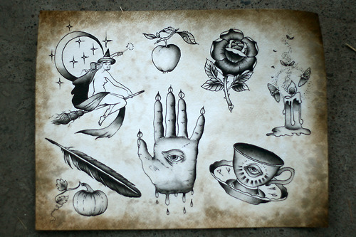 halloween tattoo images amp designs