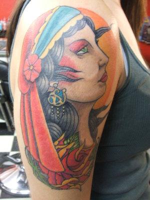 Head Tattoo Images Amp Designs