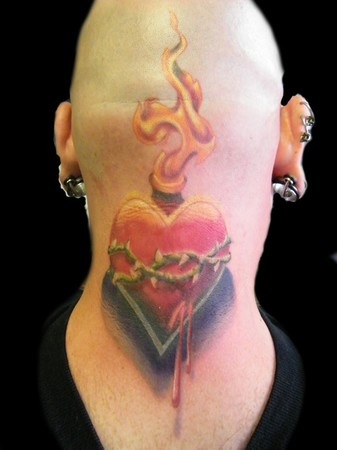 Head tattoo images designs for Sacred ink tattoo