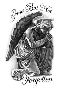 Praying Angel Tattoo Images & Designs