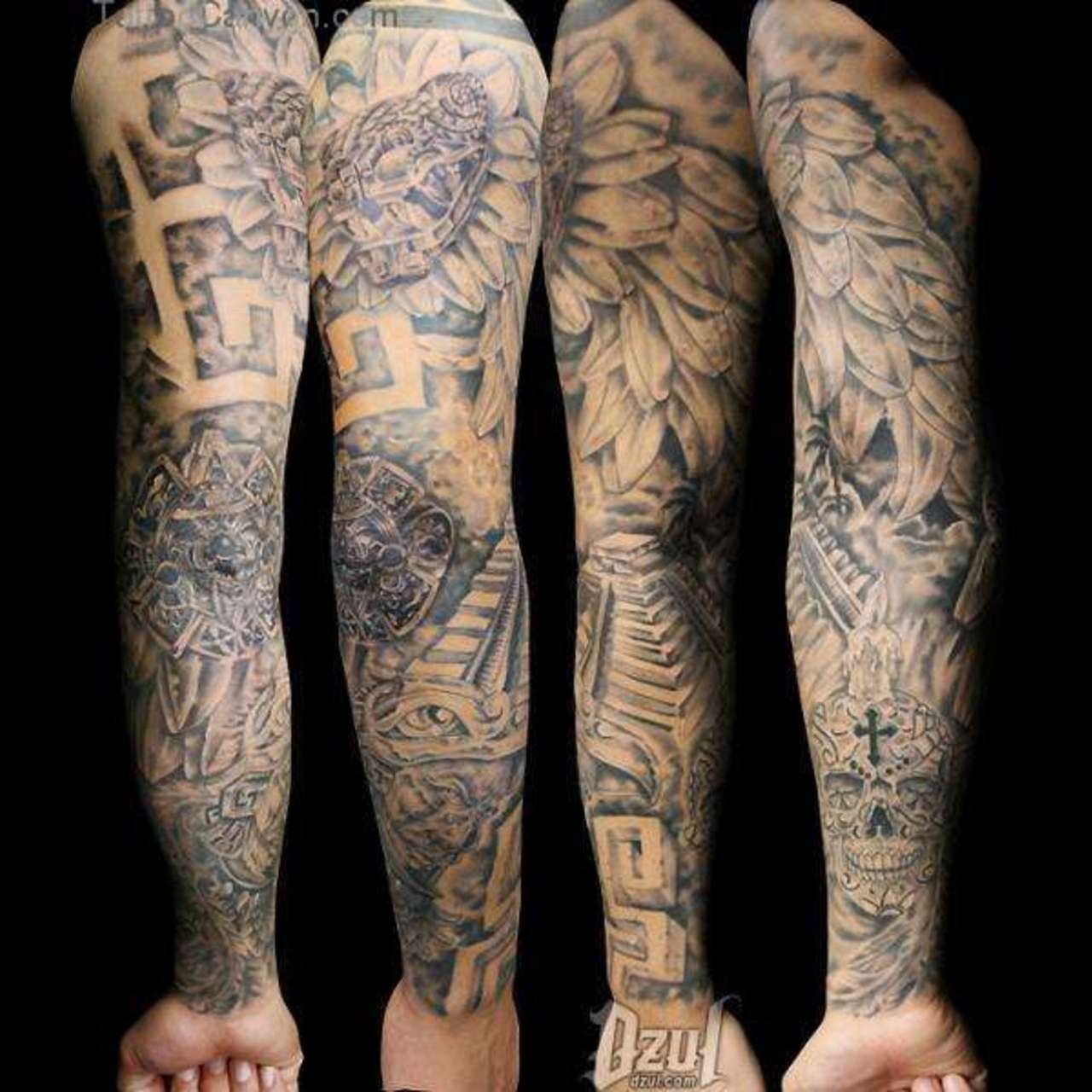 how to build a tattoo sleeve