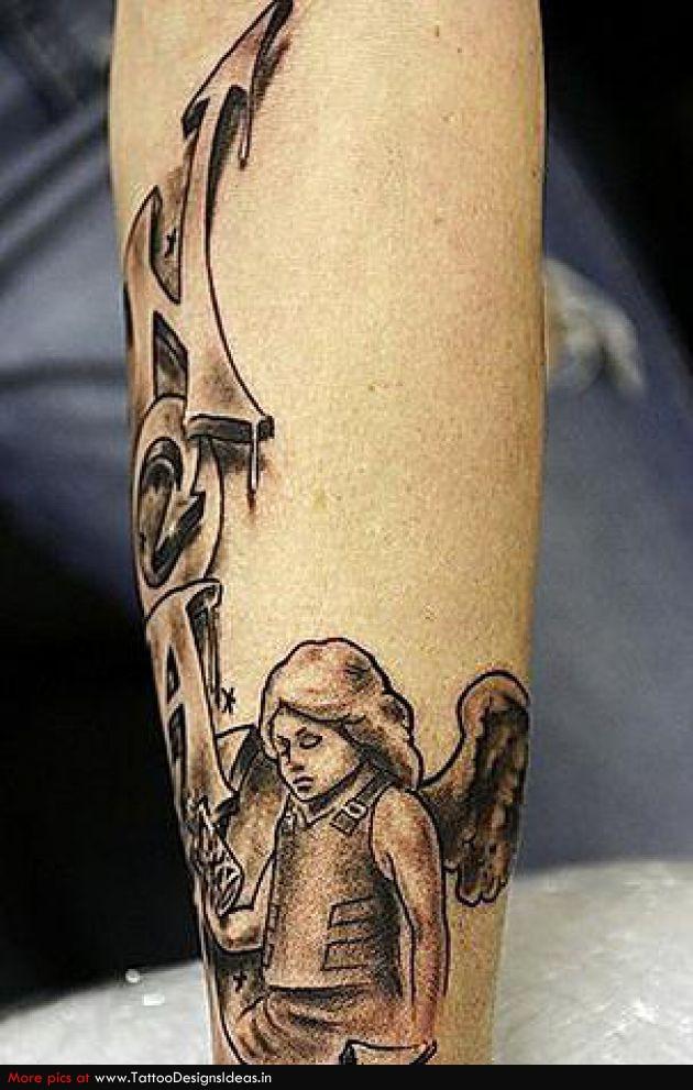 Тату ангел. Фото татуировок и значение