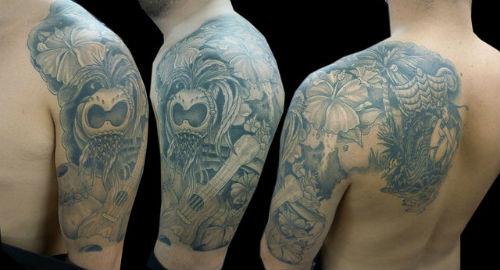 Hawaiian Tattoo Images & Designs