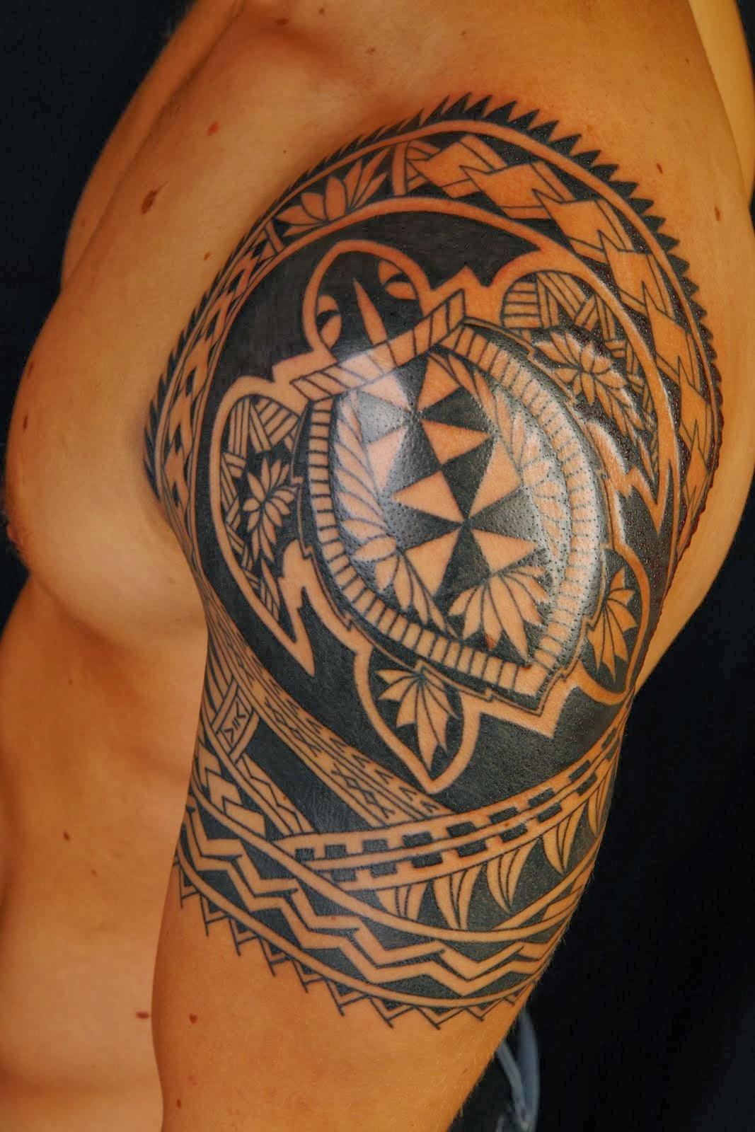 Hip Flower Tattoos La Ink Tattoos Images Tattoo Of Hawaiian Tribal