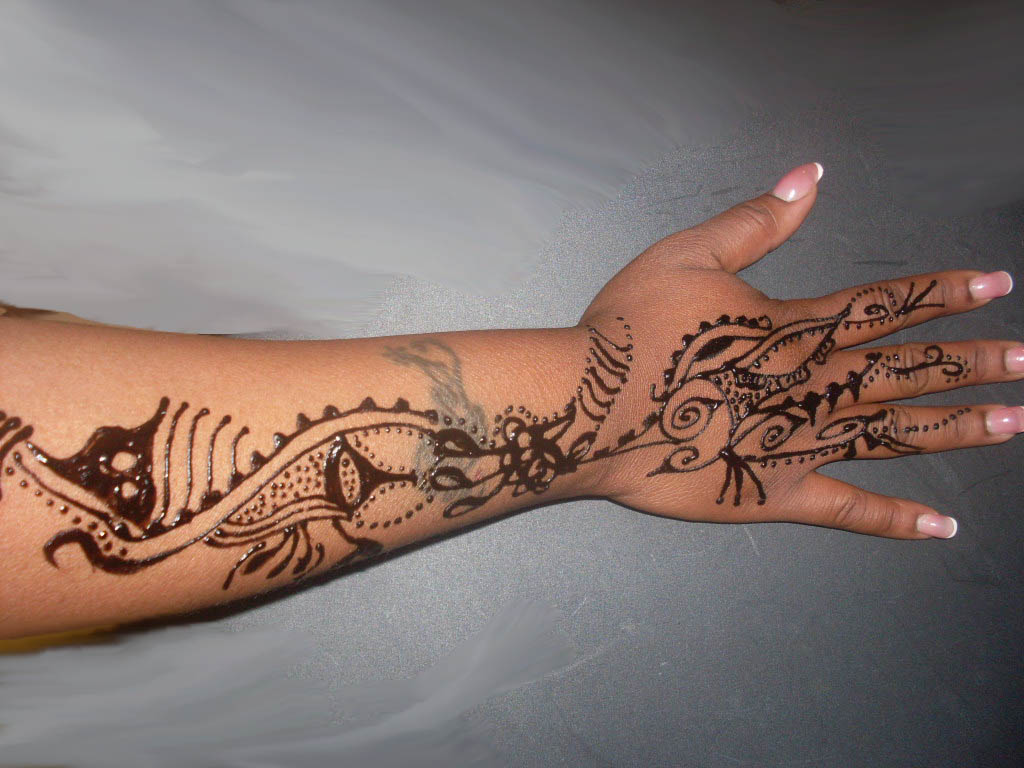 Henna Arm Tattoo: Henna Tattoo Images & Designs
