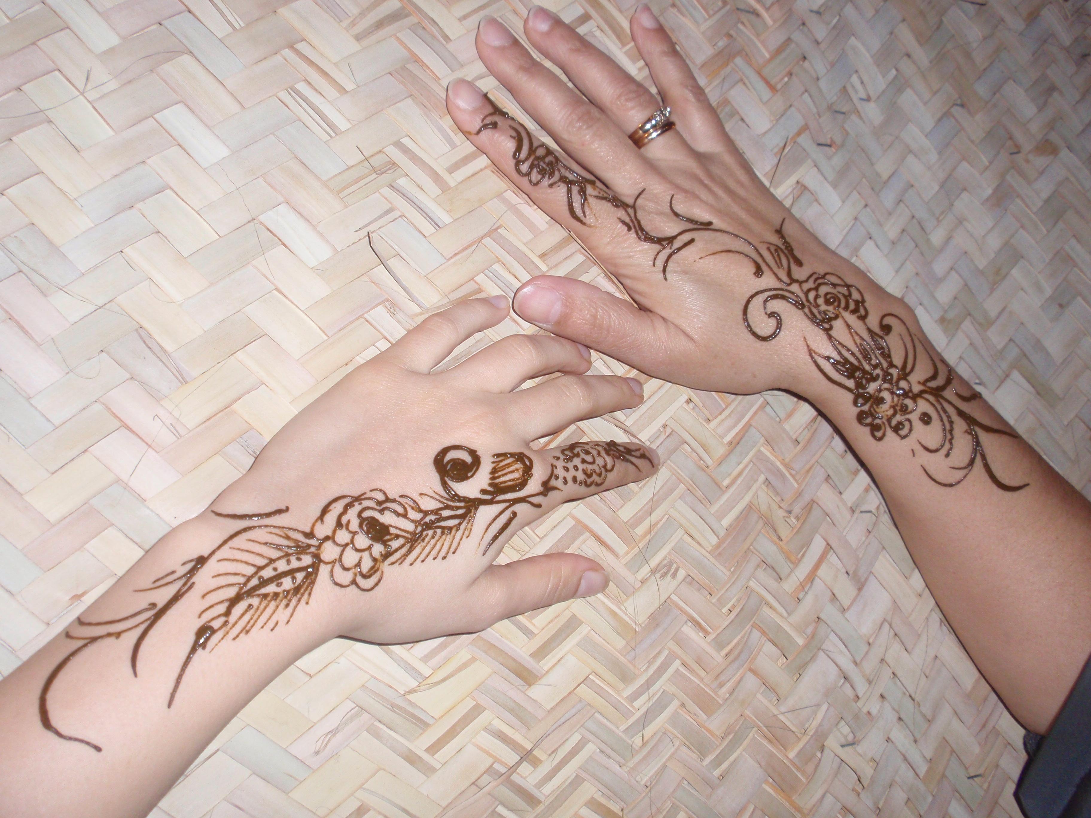 Henna Tattoo Full Back