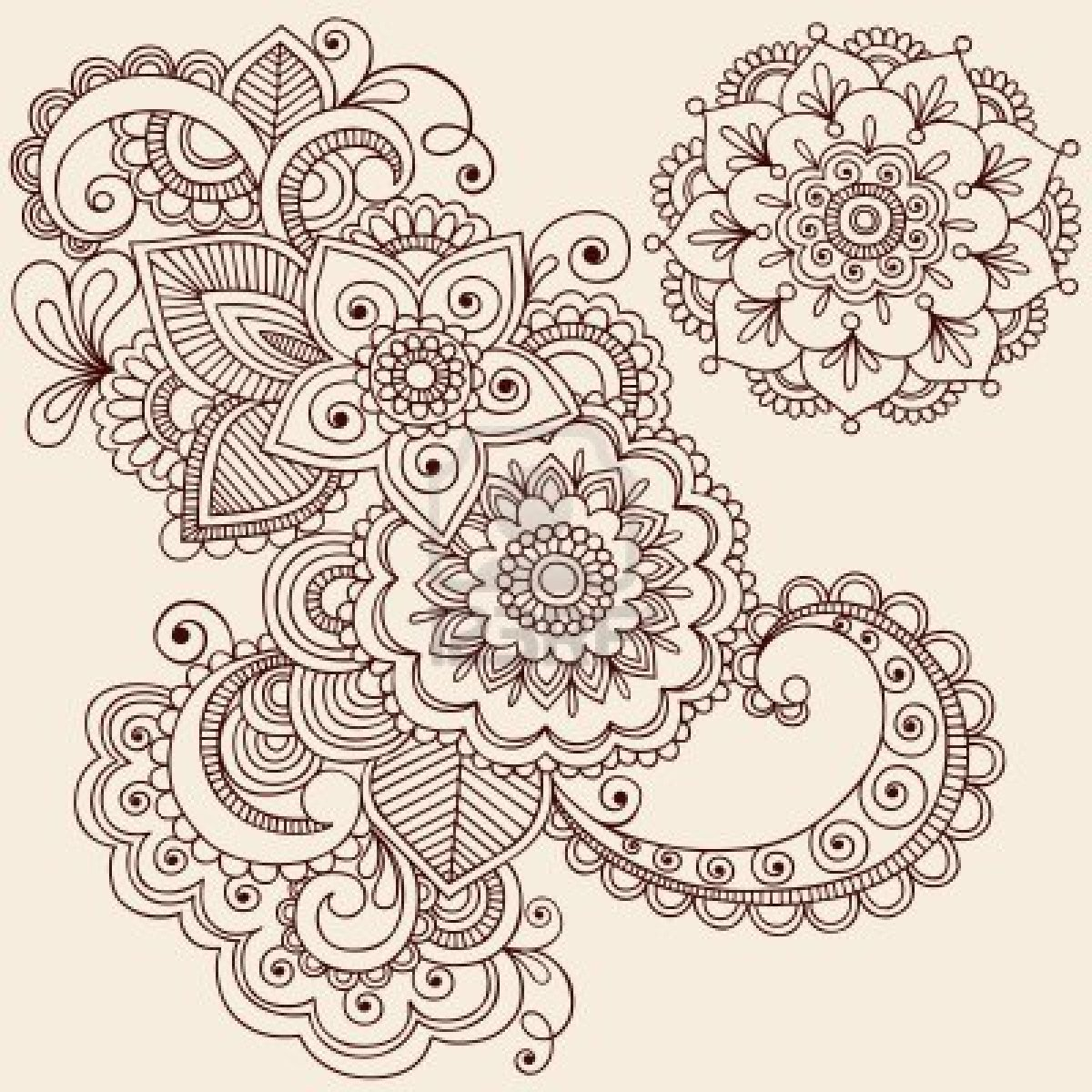 Henna Flower Designs: Henna Tattoo Images & Designs