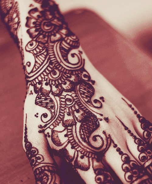 Cool Henna Designs For Girls: Henna Tattoo Images & Designs
