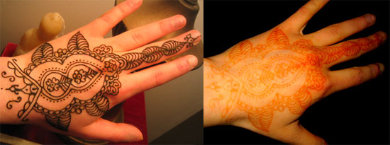 Cool Henna Tattoos: Henna Tattoo Images & Designs