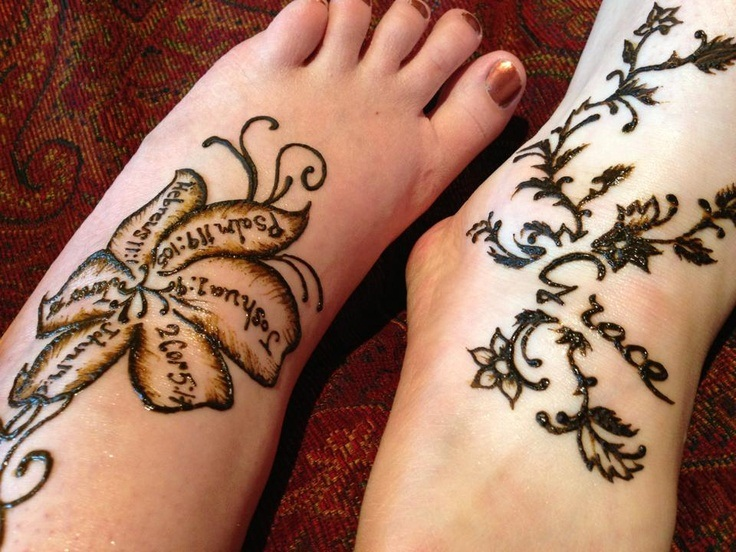 Henna Tattoo Small Ankle: Henna Tattoo Images & Designs