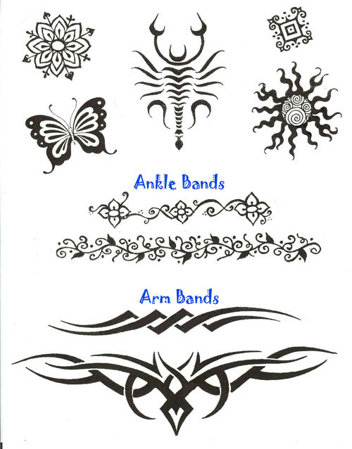 Tribal Henna Tattoos Designs