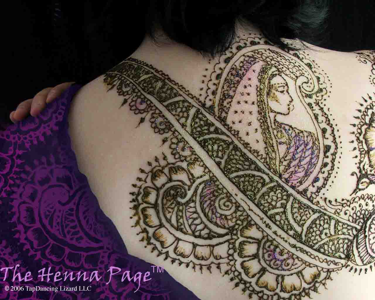 Henna Tattoo Full Back: Henna Tattoos : Page 12