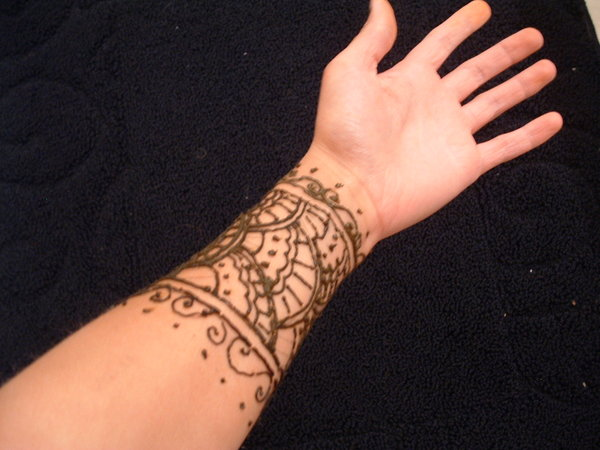 Easy Henna Tattoo Forearm: Henna Tattoo Images & Designs