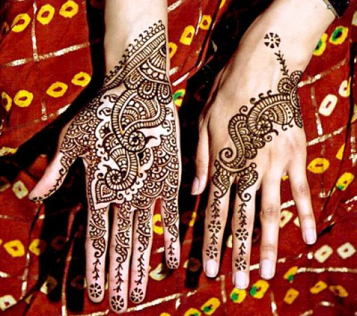 Unique Henna Tattoos On Hands