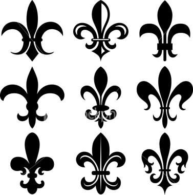 fleur de lis symbol tattoo designs. Black Bedroom Furniture Sets. Home Design Ideas