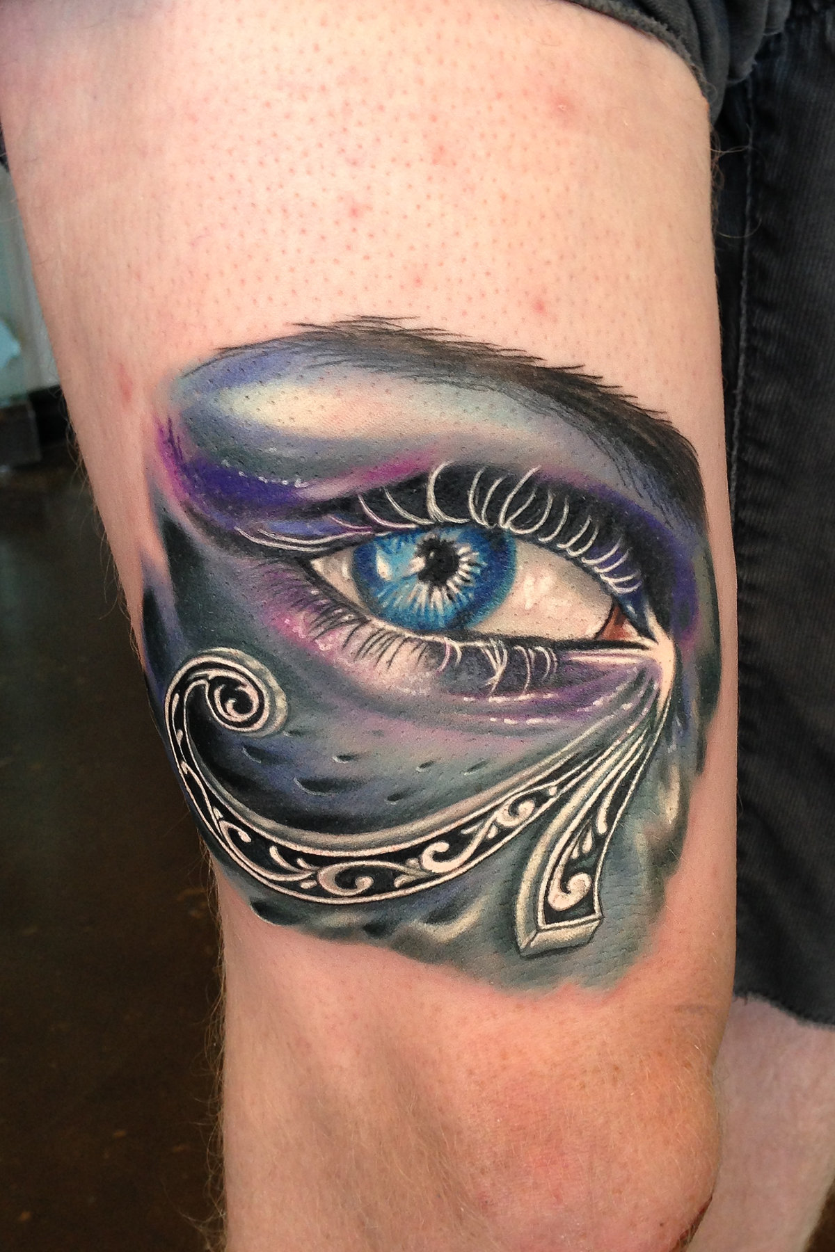 Horus eye tattoo images designs for Tattoos in the eye