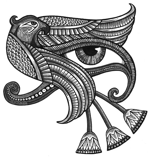 eye of horus bird